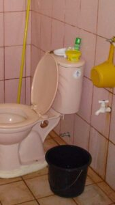 Toilet I used in the Philippines- Dipper