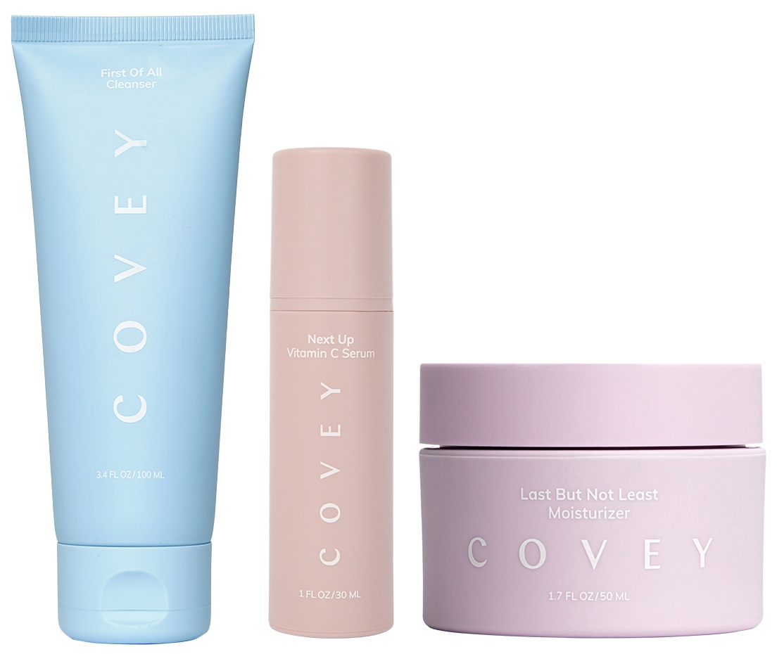 three covey products owned by Emily DiDonato